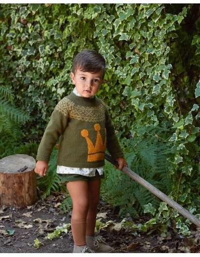 Jersey EVA CASTRO CHIARA verde corona mostaza