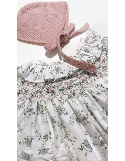 Vestido Smock Liberty Rosa DBB Ideas