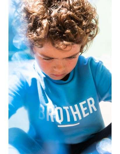 Sudadera Baby Paris Brother Azul De Niño