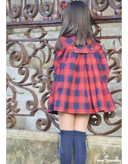 Vestido NOMA FERNANDEZ Glasgow Cuadro Rojo Nina