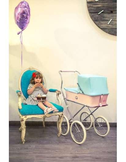 Carrito de muñeca Bebelux Sweet Sweet Cupcake
