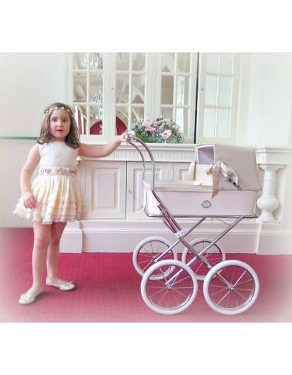 Carrito de muñeca Bebelux Sweet Azul Bebé