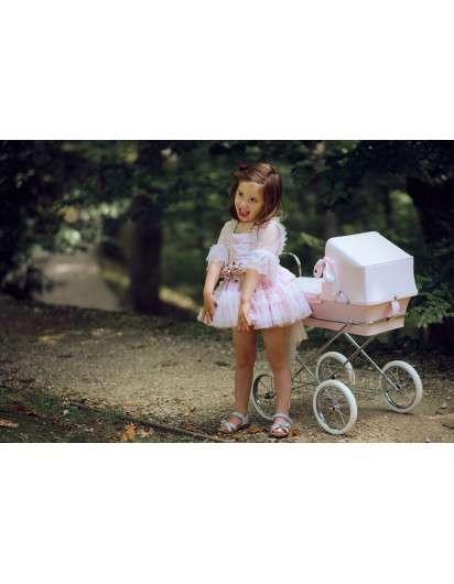Carrito de muñeca Bebelux  Minisweet Rosa Bebé