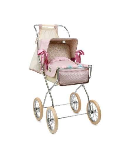 Silla de muñeca Bebelux  Vintage Reborn rosa empolvado