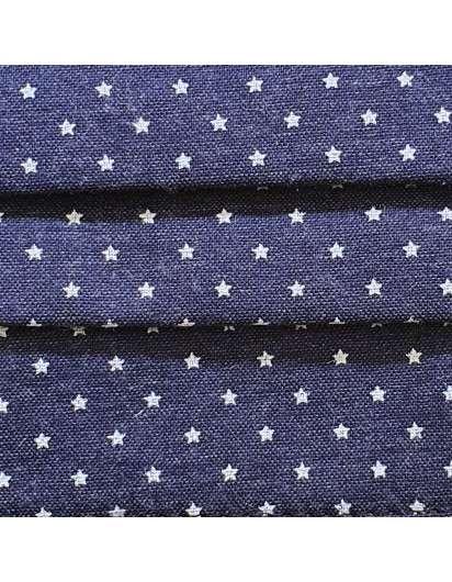 Mascarilla Higiénica Reutilizable Estrellas. Tallas niños y adultos.
