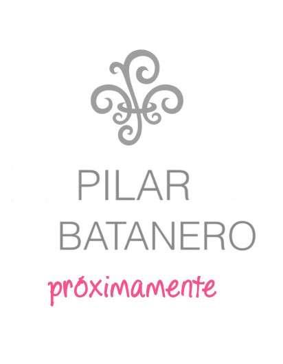 Jesusito Pilar Batanero Azul Raya Mostaza Felpa con Blusa Blanca