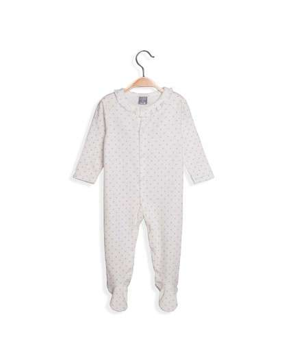 Pijama Bebe Dadati Estrellas Azul Unisex