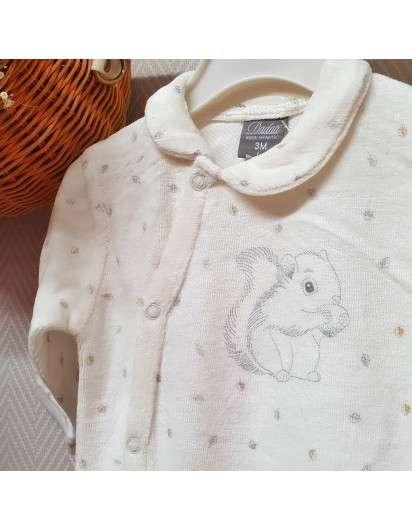 Pijama Bebe Dadati Ardilla Unisex