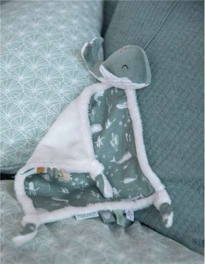 DOUDOU BALLENA OCEAN MENTA LITTLE DUTCH