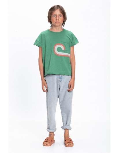 Camiseta Piupiuchick Verde  Movies Unisex