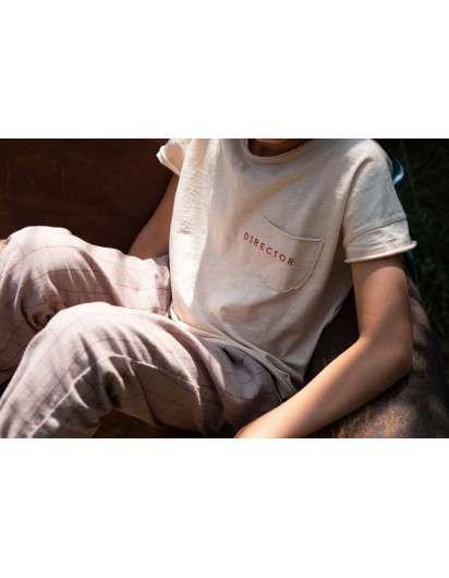 Camiseta Piupiuchick Casting Beis Unisex