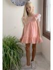 Vestido Pilar Batanero Coral Peces Lazada Espalda