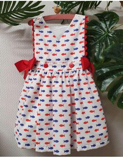 Vestido Peces Mon Petit Bonbon