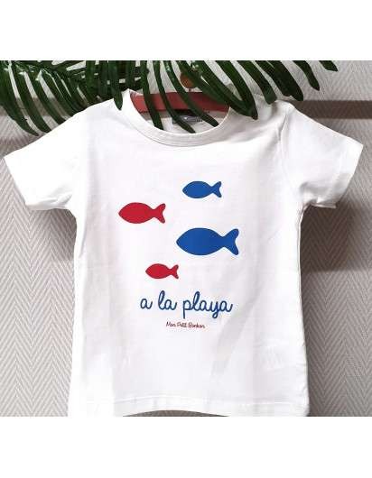 Camiseta Peces Mon Petit Bonbon