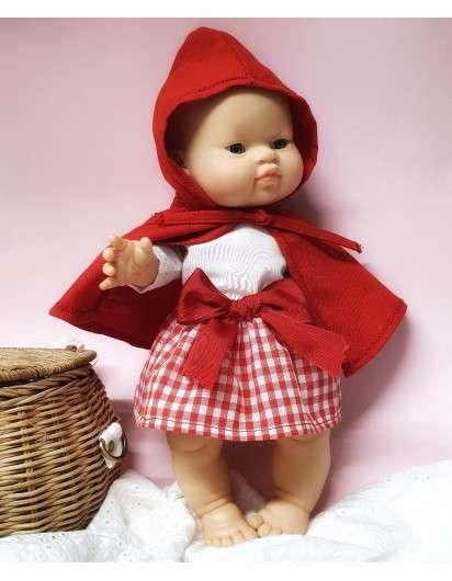 *1 Muñeca Gordi con ropa hecha a medida para 34 cm CANDIDAS DOLLS