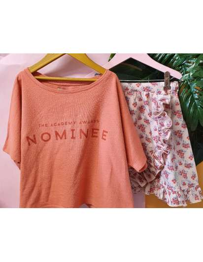 Camiseta Piupiuchick Nominee Rosa NIña