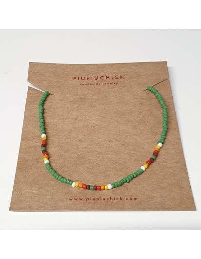 Collar Semillas PiuPiuchick Verde