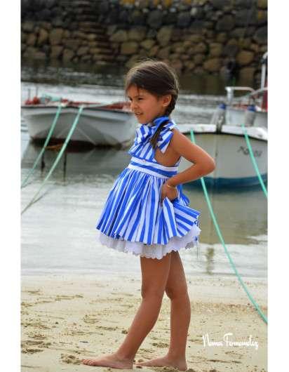 Jesusito Noma Fernandez Sailor Rayas Azul Marinero