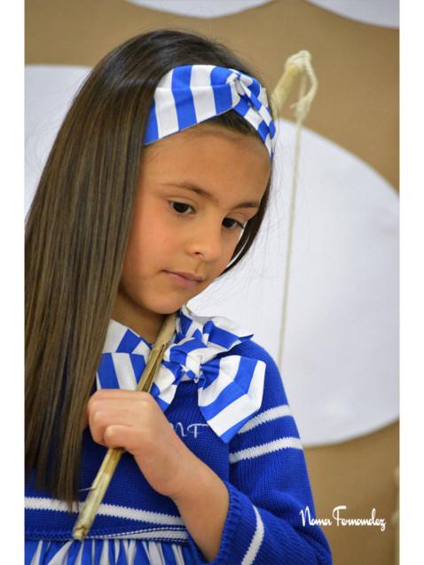 Lazada Noma Fernandez Sailor Rayas Azul