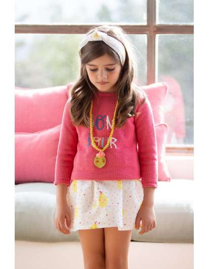Collar Kids Chocolate Limones