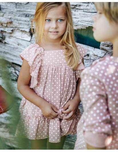 Vestido Baby Paris Estrellas Maquillaje Niña