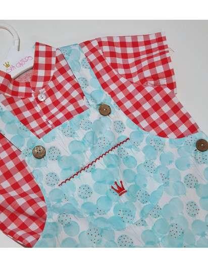 Conjunto Peto Yvonne Con Camisa Niño